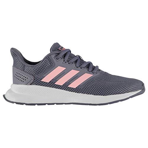 adidas Unisex-Kinder RUNFALCON K Traillaufschuhe, Mehrfarbig (Indnat/Rosaut/Negbás 000), 38 2/3 EU - Adidas Schuhe Mädchen