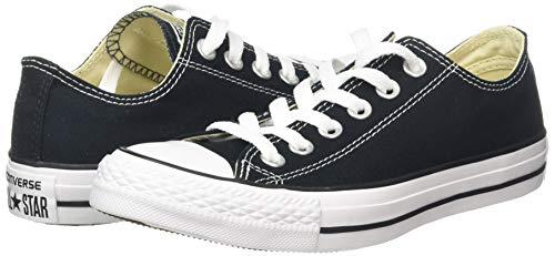 CONVERSE Chuck Taylor All Star Seasonal Ox, Unisex-Erwachsene Sneakers, Schwarz (Black), 39 EU - 6