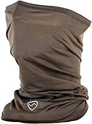 SYB Neck Gaiter, Flexible, Versatile Unisex EMF Radiation Protection, 90% Silver