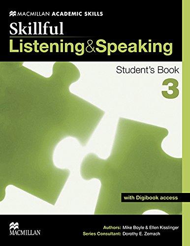 Skillful. Listening & speaking. Student's book. Con espansione online. Per le Scuole superiori: SKILLFUL 3 Listening & Speaking Sb Pk (Skilfull)