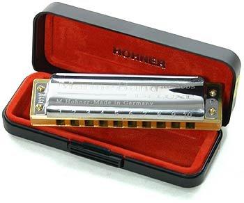Hohner M200511X Marine Band Deluxe Bb Mundharmonika (Hohner Marine Band Mundharmonika)