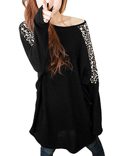 allegra-k-leopard-prints-long-batwing-sleeve-stretch-loose-tunic-shirt-for-women-black-xl-uk-20