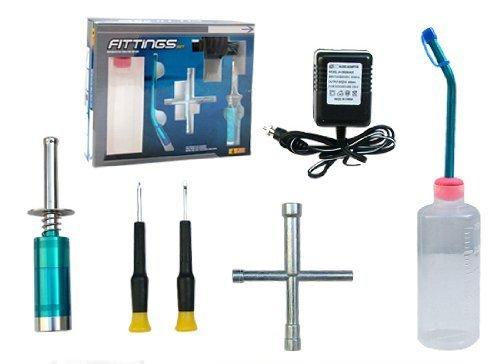 Nitro Gas Starter Kit for RC R/C Radio Remote Control, occasion d'occasion  Livré partout en Belgique