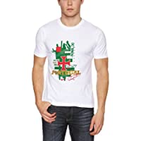 Nike Men's T-Shirt de supporter du Portugal Ronaldo