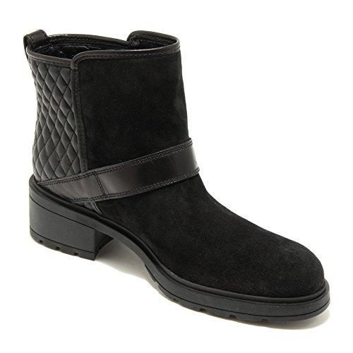 4810G stivale donna nero HOGAN tronchetto basso scarpa boots shoes women Nero