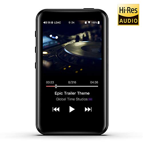 FiiO M6 portabler High Definition Audio und MP3 Player - 192 kHz/24 - Bluetooth LDAC, aptx HD, HWA - Tochscreen High-definition Link