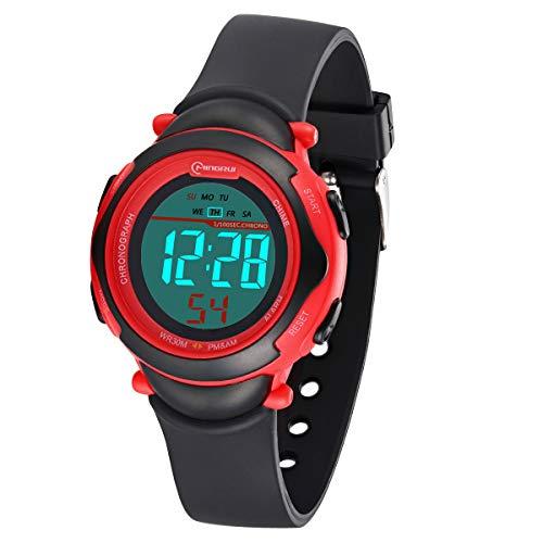 Relojes niños,Reloj Deportivo Digital Prueba Agua