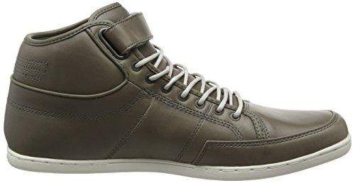 Boxfresh Swich Prem Icn Lea, Sneakers Hautes homme Grey (Mgry/Grif Gry)