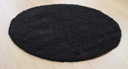 Tappeto moderno cerchio in pile a pelo