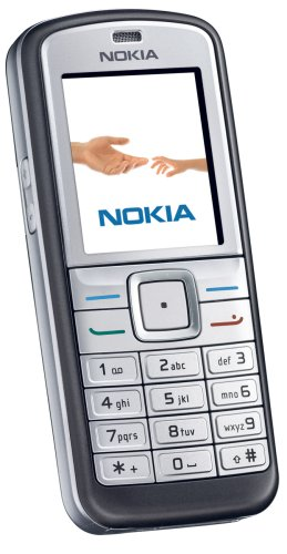 Nokia 6070 dunkelgrau Handy