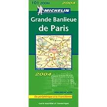 Carte routière : Grande banlieue de Paris : Du périphérique à la Francilienne, N°11101