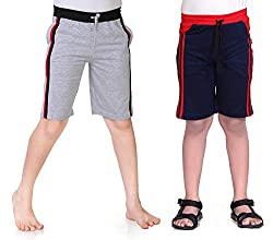Dongli Boys 2pcs Combo Jersey Knee Shorts