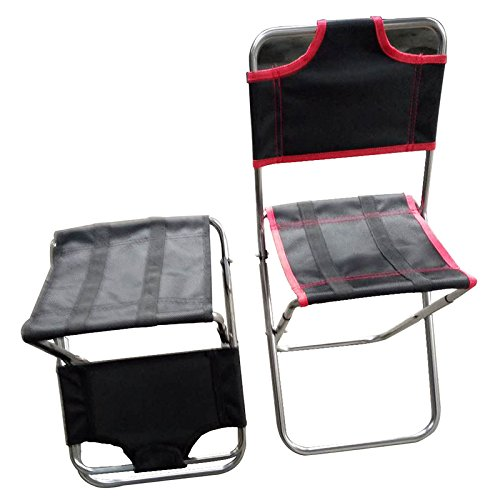 XD-Posteriore in alluminio campeggio pieghevole sedie all'aperto elaborazione , red aluminum alloy 6063