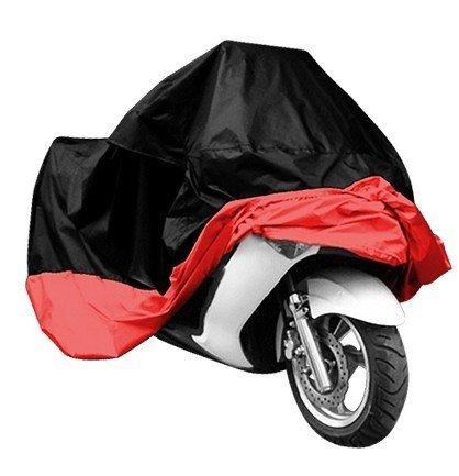 Motorrad Cover, rot,