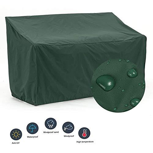 LITINGFC-Gartenmöbel Abdeckung Rechteckig Oxford Cloth Wasserdicht UV Resistent Außenterrasse Tischdecke, 2 Farben, 27 Größen (Color : Green, Size : 240x140x90CM)