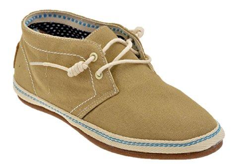 O-joo Mi M110 Baskets Basses Neuf Chaussures Hom. Beige