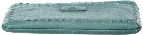 Adax Adax clutch 445882, Pochette donna, 22x14x1 cm (L x A x P) Verde (Grün (Jade 50))