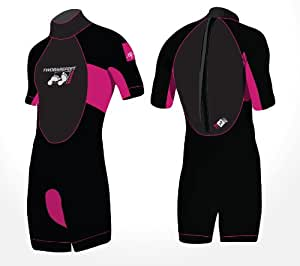 SIGNATURE Shorty Adults Wetsuit - Mens Womens Unisex (Raspberry, 2XL)