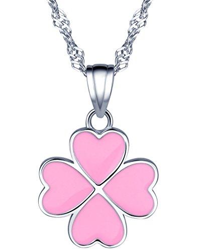 yumilok-jewelry-pendientes-de-plata-de-ley-925-rosa-corazones-lovely-trebol-de-cuatro-hojas-colgante