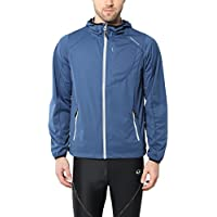 Ultrasport Men's Multifunctional Jacket Endy with Ultraflow 3,000, lightweight and breathable, which makes it perfect as a running jacket, training jacket or cycling jacket, wind and waterproof