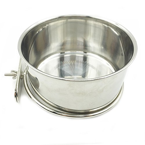Stainless-Steel-Cup-Pet-Bowl-For-Cage-Crate-with-Screw-Holder-Dog-Cat-Puppy-Feeder-Bolt-Hanging-Dishes-Food-Water-Bowls-Silver-Large-14cm