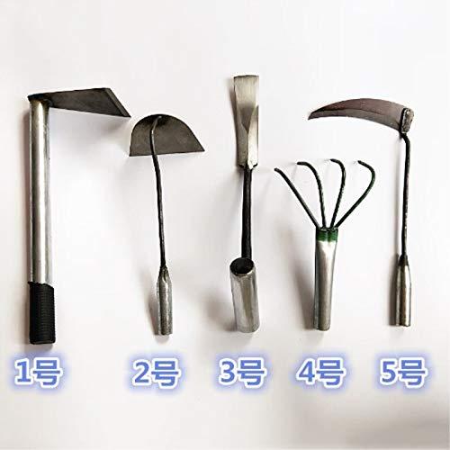 YYXD Landschaft Tool Sickle, Vierzahn -Rake, Shovel, Hoe Set for Landscape Agriculture,Sickle Nr.5 (Landschaft-tools)