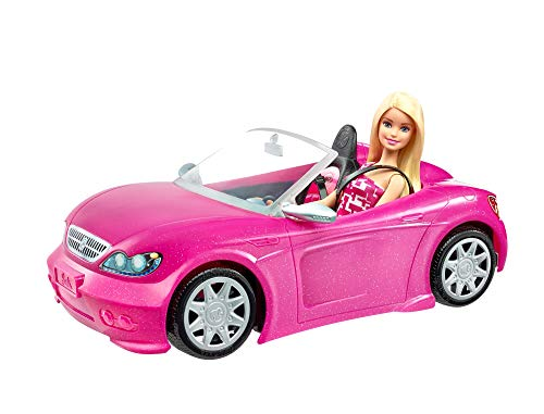 Mattel - Barbie y su coche descapotable muñeca con coche ( DJR55)