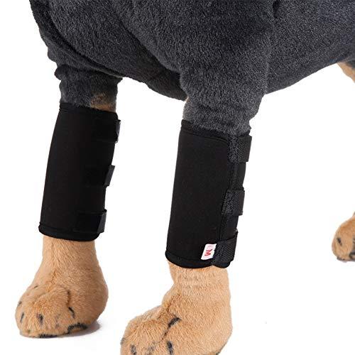 Haustier-Knie-Klammer-Pads Verpackungs-Verband Leg Socken für Hunde entlasten Schmerz von Operation/Arthritis