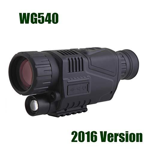 ANZQHUWAI Digitales Nachtsichtgerät in/frArOTsCh 940NM Nachtsicht-Jagd-Bereich mit 8G TF,WG540