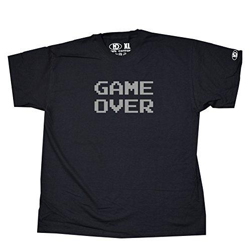 Nicram Designs Herren T-Shirt BLACK + Grey Logo
