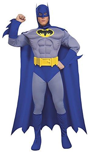 (Rubie 's Offizielles Batman Deluxe, Erwachsene Kostüm–Medium)