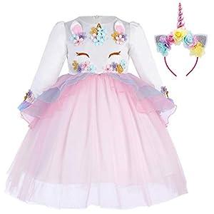 IWEMEK Princesa Bebé Niña Vestido