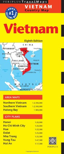 Vietnam Travel Map (Periplus Travel Maps Country Map)