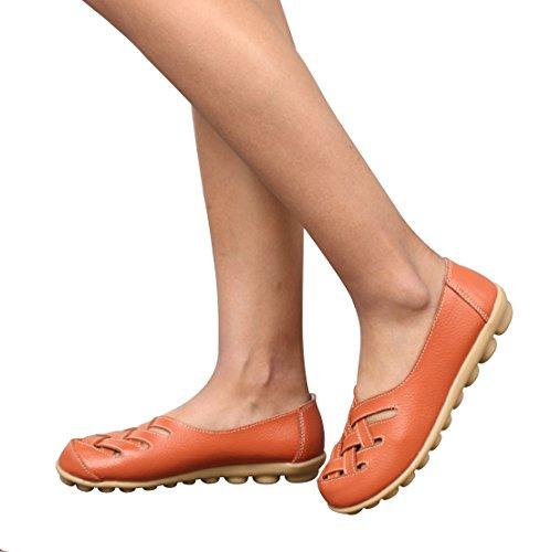 NIUERTE Bas Femme Orange
