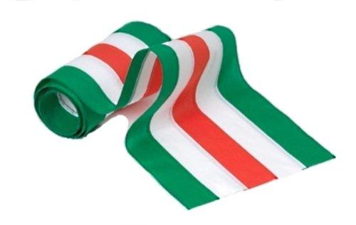Independence Wimpelkette und Flagge, 5 Streifen, Baumwolle, Grün/Weiß/Orange/Weiß/Grün 36-Inch