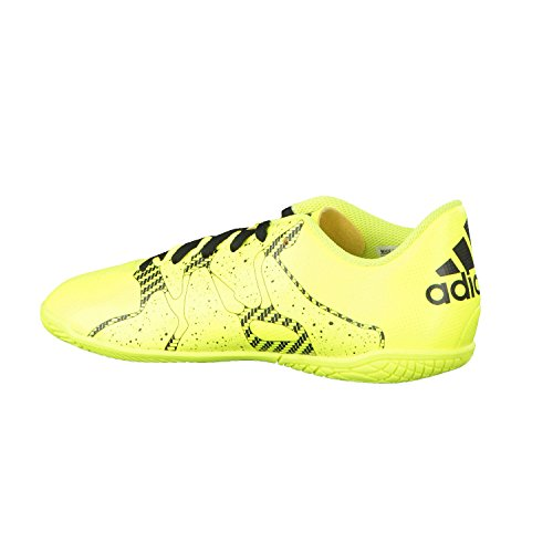adidas X 15.4 Indoor, Chaussures de Football Garçon Yellow / Black