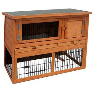 Kaninchenstall Loft Karlie, Flamingo, doppelstöckig