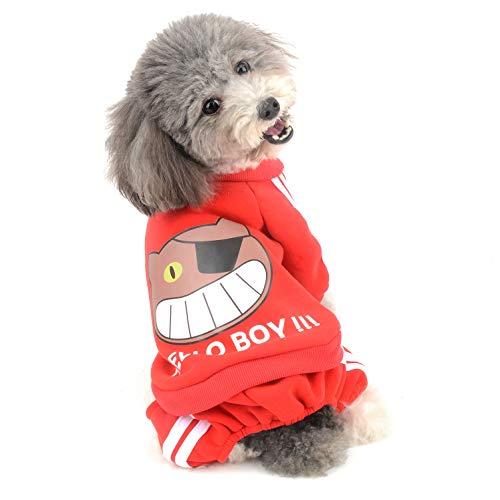 mit Kapuze, Fleece, für kleine Hunde und Jungen, Winterpullover, warm, für Chihuahua Kleidung Welpen ()