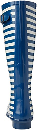 Grisport Unisex-Erwachsene Wellesley Gummistiefel Blau (blue Stripe)