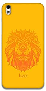 The Racoon Grip Leo hard plastic printed back case / cover for HTC Desire 816