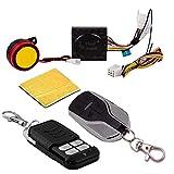 SHOP4U Bike Anti-Theft Alarm Security System Kit for All Bikes, Multicolour