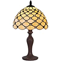 ZYCkeji Zart Retro-Studie Schlafzimmer Nachttischlampe Wohnzimmer Büro Farbe Glas Perle Vorhang Tischlampe, Home... preisvergleich bei billige-tabletten.eu