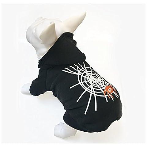 Animal Chien Chat Halloween Pull à capuche Costume pour animal domestique Chiot T-shirt Sweat à capuche Tenue Vêtements