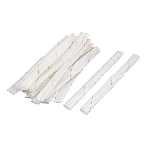 20 PC 20cm 12mm Durchmesser PVC Fiberglas Isolierschläuche Rohr Sleeve
