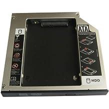 Generic 2nd disco duro HDD SSD Caddy para MSI GE60GE60GX60GX70GP60GP70Z70