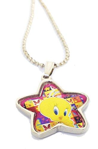 WB Tweety / Necklace / Pendant / Original Locket Imitation Jewellery WBIJNSET2K1 for Kids