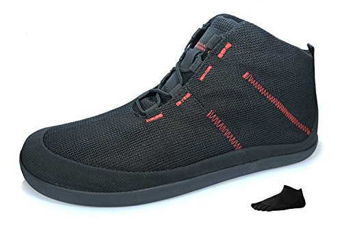 T1 Allrounder 4 + Zehensocke 11005, Size:41;Color:Black/Red