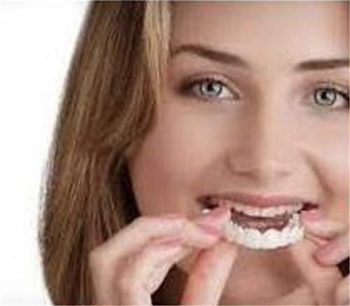 Maple Leaf Comfort Fit Zahnschützer, Morwind Beauty Sofortiges Lächeln Comfort Fit Flex-Zahnoberteil Kosmetische Furnierprothesenpflege Einheitsgröße,upperandlowerteeth
