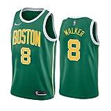 NBA Basketball Hoodie 8#, NBA Kelten Kemba Walker # 8 Sportjacke Jacke Basketball Match Jersey