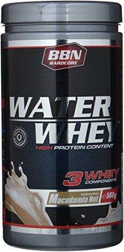 BBN Hardcore Water Whey Protein Macadamia Nut Dose, 500 g